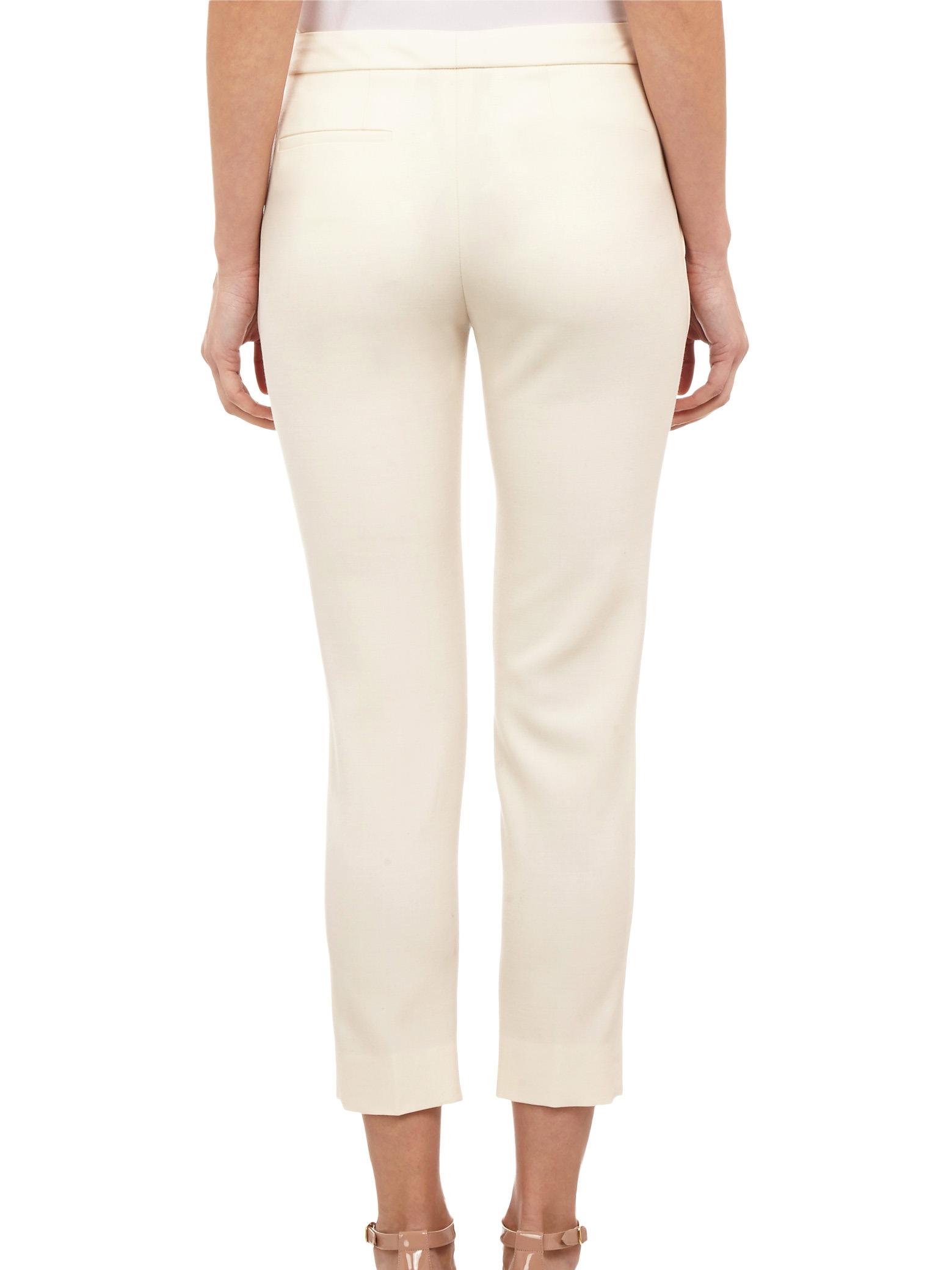 Louise paris chloe pantalon taille haute coupe droite en - Pantalon femme taille haute coupe droite ...