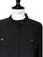 Chemise Marianna en soie noire Px boutique 315€ Taille 36
