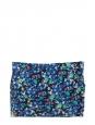 Mini jupe NEON GORDON imprimé fleuri bleu jaune vert Px boutique 290€ Taille 36