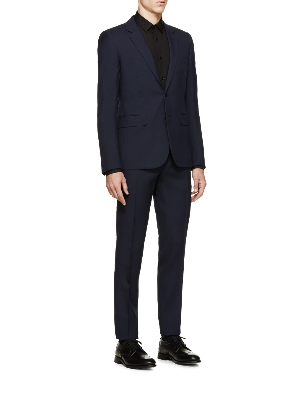 tailored fitted trousers - Blue Saint Laurent odWuwXVQeR