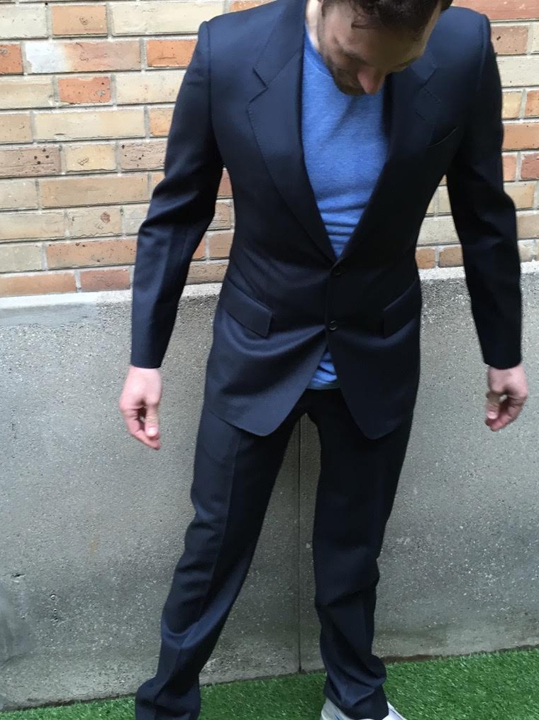 Veste noire taille 46