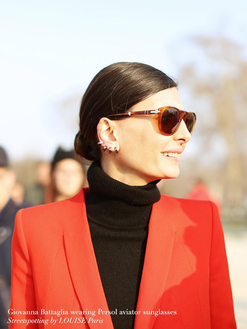 2f9746c5f195 Louise Paris - PERSOL Havana Brown Faded Lenses Steve McQueen 714 folding  sunglasses
