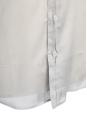 Chemise manches courtes en voile de coton gris clair Px boutique 350€ Taille M