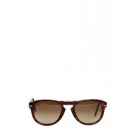 Havana Brown Faded Lenses Steve McQueen 714 folding sunglasses Retail price €150