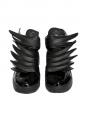 Adidas Originals by Jeremy Scott Baskets Dark Knight JS Wings 3.0 en cuir noir Taille 42