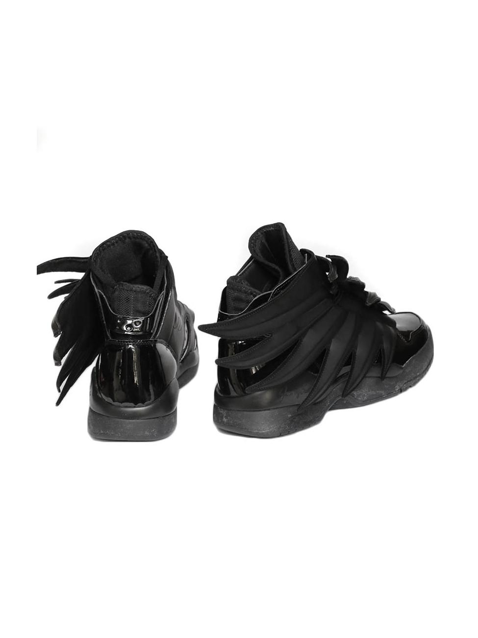 Louise Paris Adidas Originals by Jeremy Scott Dark Knight