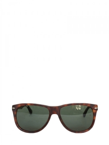 Mat tortoiseshell brown aviator sunglasses PO 3103S 9001/31 Retail price €210 NEW in box