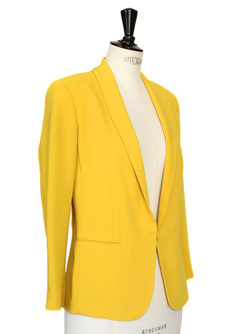 louise paris rag bone veste blazer fluide jaune canari px boutique 440 taille 34. Black Bedroom Furniture Sets. Home Design Ideas