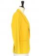 Veste blazer fluide jaune canari Px boutique 440€ Taille 34