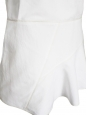Robe dos nu V en soie et lin blanc Px boutique 1200€ Taille 36