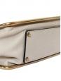 Sac Sally moyen modèle en cuir grainé beige rosé et chaîne dorée Prix boutique 1710€