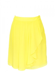 Bright yellow high waist skirt Size XS/S