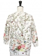 ROSEANNA JAMES Floral print neoprene jumper Retail price €280 Size 38