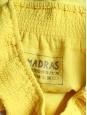Jupe courte en coton plumetis jaune canari Taille 38/40
