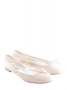 Cream beige nappa calfskin leather CENDRILLON flat ballerinas NEW Retail price €195 Size 41