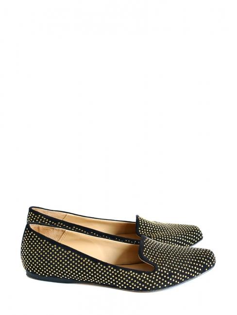 Chaussures mocassins plates ZARA suède Louise en Paris Onk0P8w