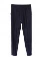 Pantalon slim fit en laine bleu nuit Px boutique 560€ Taille 36