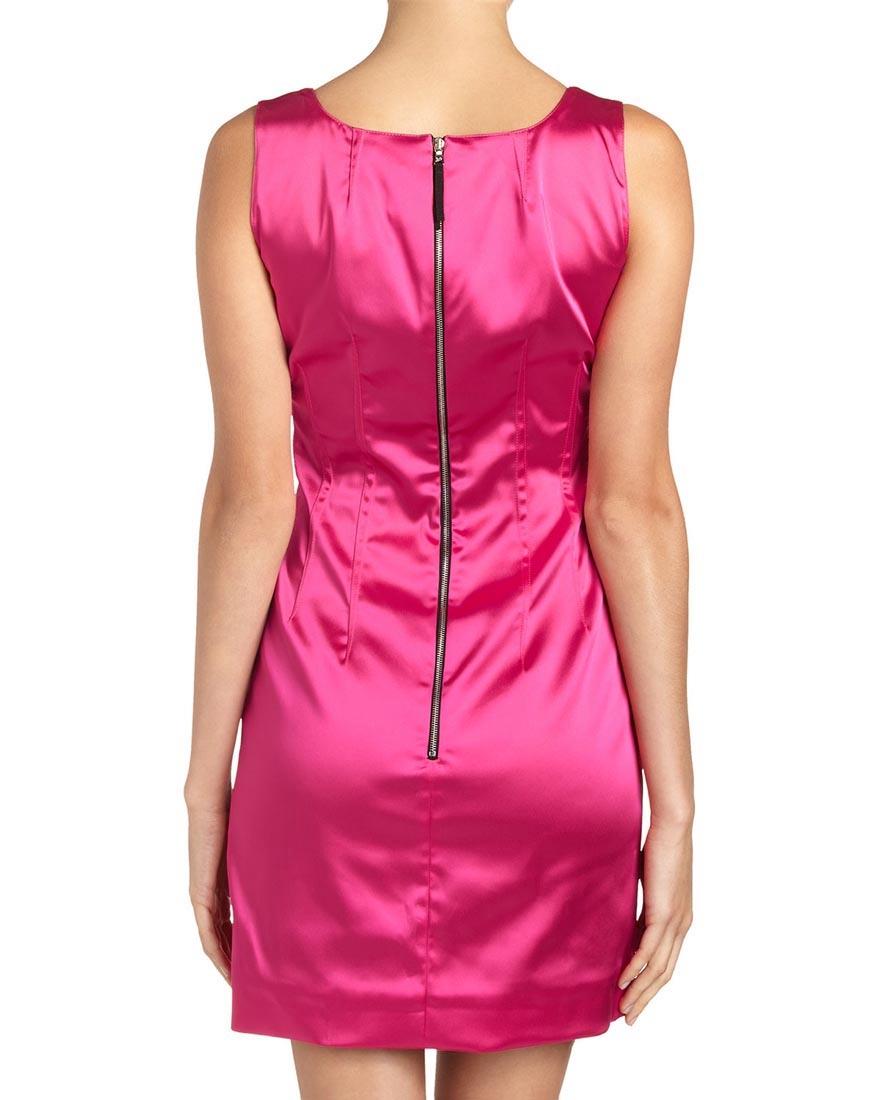 Louise Paris Dolce Amp Gabbana Fuchsia Pink Stretch Satin