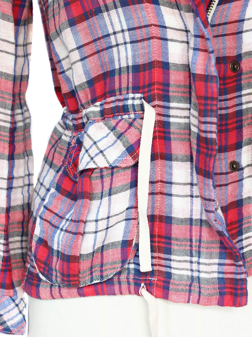 Red Plaid Shirt For Women