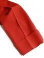Pantalon droit en jersey rouge carmin NEUF Px boutique 550€ Taille 36