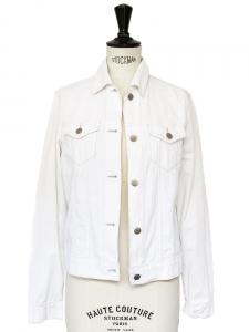 THEORY Veste en velours côtelé blanc Px boutique 310€ Taille 36