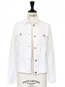 THEORY White corduroy jacket Size 36