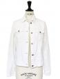 White corduroy jacket Retail price €309 Size 36