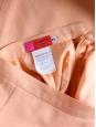 Jupe crayon UNGARO taille haute en laine rose saumon Taille 34