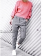 Candy pink wool-blend knit sweater Retail price €330 Size S