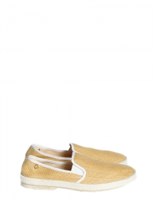 Montecristi espadrilles flat shoes in beige fabric Retail price €70 NEW Size 40