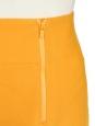 Jupe tulipe en soie et laine jaune doré Px boutique 650€ Taille 34/36
