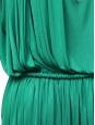 Robe de soirée drapée et plissée style grecque vert émeraude Px boutique 1850€ Taille 38/40