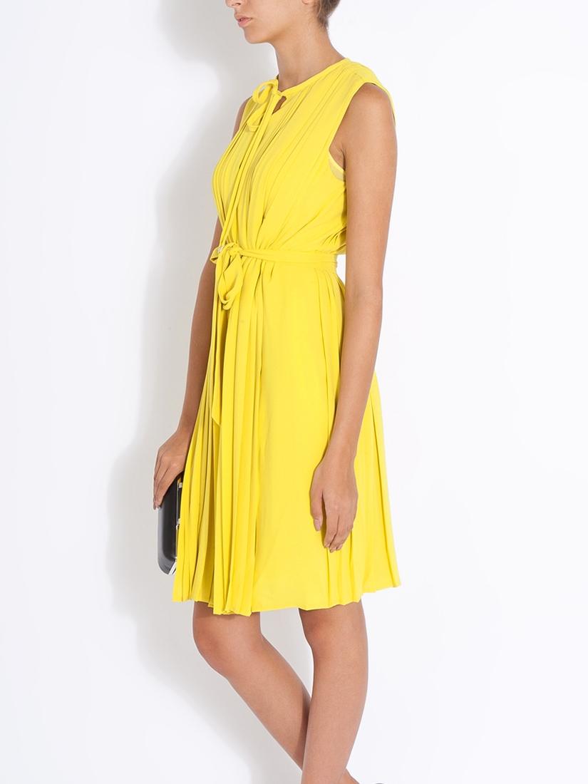 Robe jaune taille 34