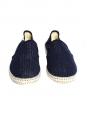 Mocassins CLASSIC 20° en coton maillé bleu marine NEUFS Px boutique 60€ Taille 40