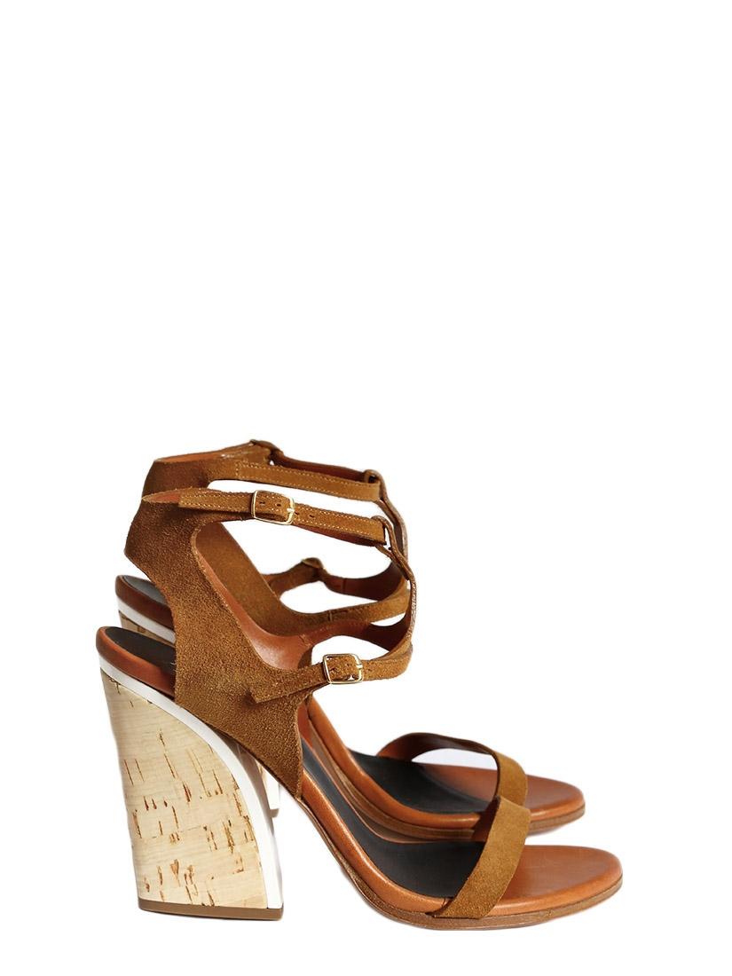 3d6850f3db5 Louise Paris - CHLOE Tan suede leather