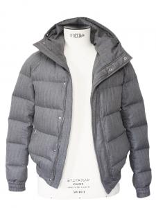 DIOR HOMME Doudoune en duvet de plumes d'oie gris clair Px boutique 2500€