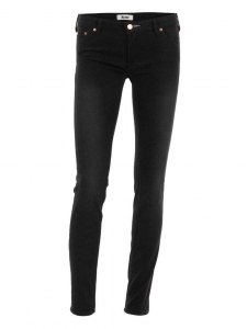 ACNE Pantalon jean slim stretch KEX THUNDER noir Px boutique 215€ Taille 34