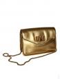 Sac à bandoulière Sally en cuir doré Px boutique 1320€