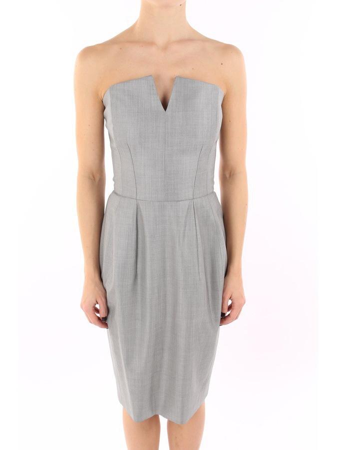 ... Robe de cocktail bustier en soie et fine laine grise Px boutique 2300€  Taille 36 ... 4224d862a9c
