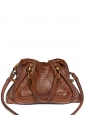 Sac PARATY Medium en python marron cognac Px boutique 2500