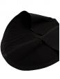 Jupe Couture en laine et soie noire Défilé Fall 2013 NEUVE Px boutique 2500€ Taille 34