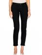 Pantalon jean Etroit Court noir Px boutique 160€ Taille 27
