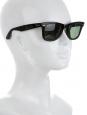 Lunettes de soleil unisexe WAYFARER CLASSIC noires Px boutique 139€
