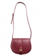 & A.P.C Angèle burgundy red leather cross-body bag Retail price €460
