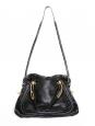 PARATY black leather medium shoulder bag Retail price €1450
