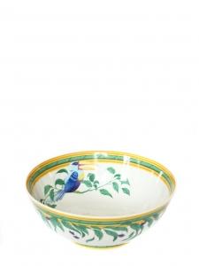 TOUCAN Limoges porcelain salad bowl NEW Retail price €500