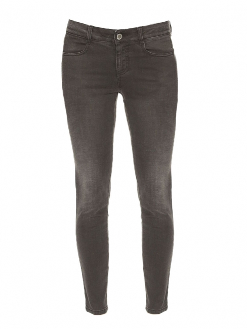 Dark grey slim fit denim pants Retail price €225 Size 38