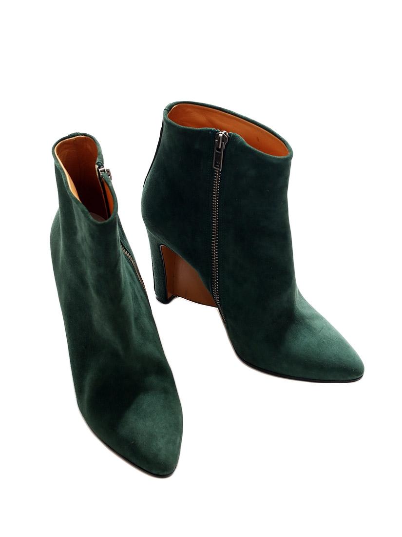 e6de8e8545e3 Bottine a talon vert - L empire des chaussures