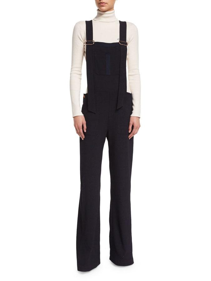 ... Pull col roulé en maille côtelé de laine et cachemire blanc Px boutique  280€ Taille ... 5c3eb36453f