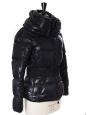 Veste doudoune de ski Aliso bleu nuit avec ceinture Px boutique €750 Taille 1 / 36